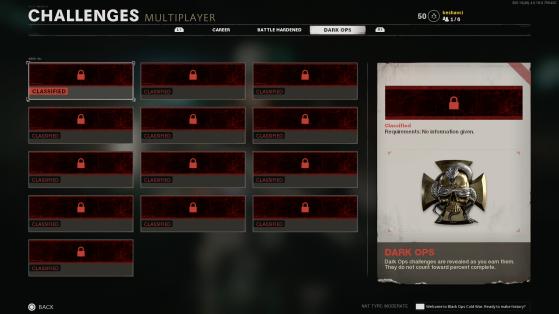 Desafíos del multijugador. - Call of Duty: Black Ops Cold War