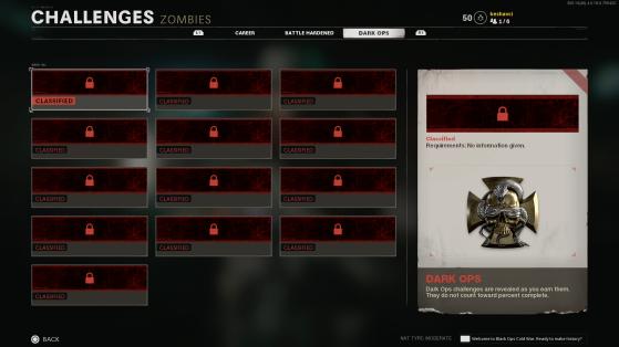 Desafíos del modo Zombis. - Call of Duty: Black Ops Cold War