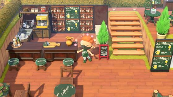 AC New Horizons: La isla perfecta existe, tiene bar y hasta una fábrica de Cervezas San Miguel