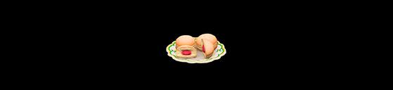 Plato de berlinesas - Animal Crossing: New Horizons