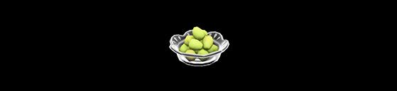 Plato con doce uvas - Animal Crossing: New Horizons