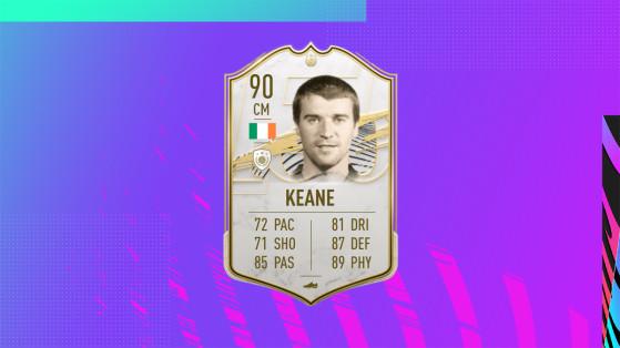 FIFA 21: Solución al desafío Roy Keane Prime, Icono de FUT