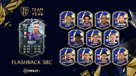 FUT 21: La mejor solución al SBC de Ribéry Flashback en FIFA 21. ¿Merece la pena?
