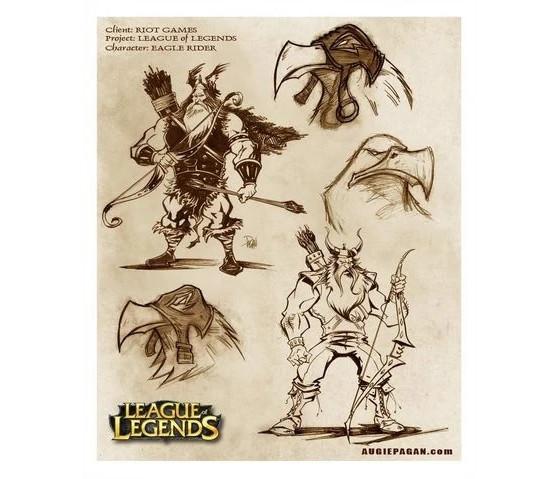 Eagle Rider sirvió para traer dos nuevos campeones al juego - League of Legends