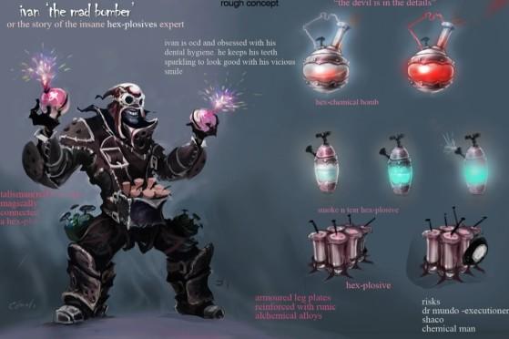 Así era Ivan, el Bombardero Loco - League of Legends