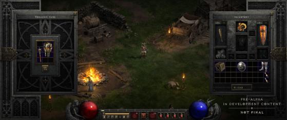 Diablo 2 Resurrected sistema de menús - Millenium