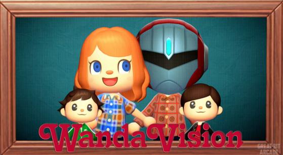 ¡Animal Crossing: New Horizons recrea la intro de WandaVision y nos ha dejado sin palabras!