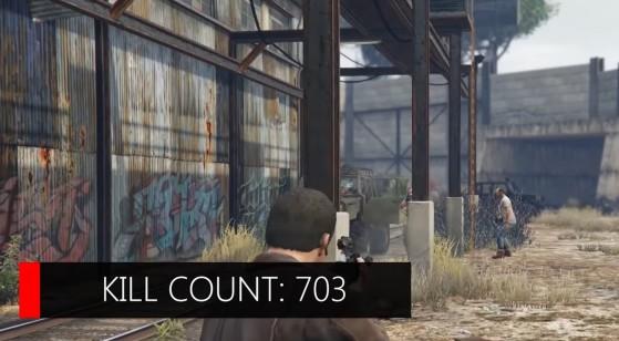 GTA V: El terrible drama pacifista de su modo historia, mataremos a más de 700 víctimas como mínimo