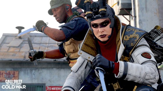 Cuchillo balístico - Call of Duty Warzone