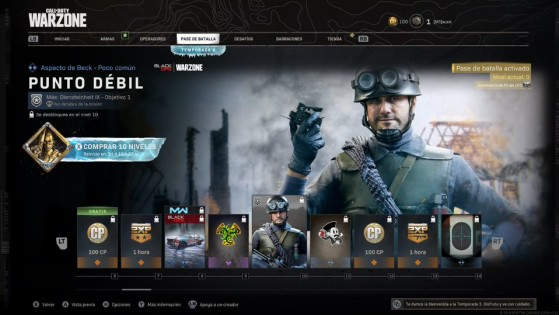 Niveles del 6 al 13 del pase de batalla de la temporada 3 de Warzone - Call of Duty Warzone