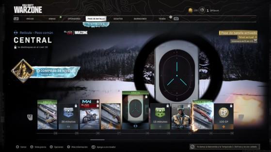 Niveles 24 al 32 del pase de batalla de la temporada 3 de Warzone - Call of Duty Warzone