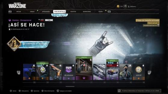 Niveles del 33 al 41 del pase de batalla de la temporada 3 de Warzone - Call of Duty Warzone