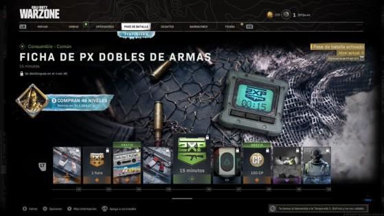 Niveles del 42 al 50 del pase de batalla de la temporada 3 de Warzone - Call of Duty Warzone