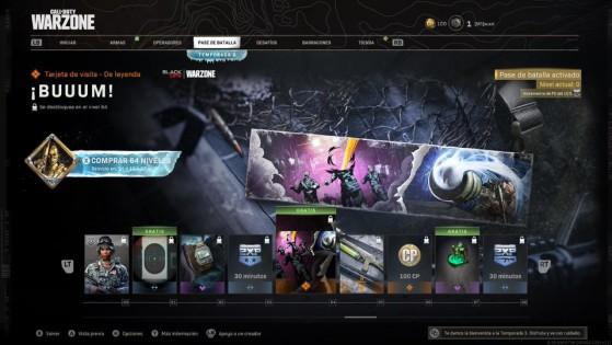 Niveles del 60 al 68 del pase de batalla de la temporada 3 de Warzone - Call of Duty Warzone