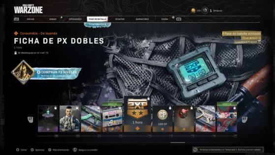 Niveles del 69 al 77 del pase de batalla de la temporada 3 de Warzone - Call of Duty Warzone