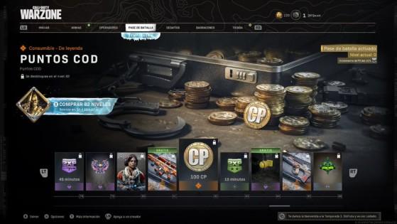 Niveles del 78 al 86 del pase de batalla de la temporada 3 de Warzone - Call of Duty Warzone