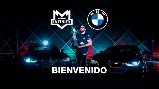 Gillette Infinity Esports vuelve a sacudir la escena con otro gran sponsor: BMW