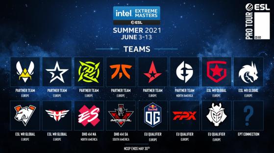 IEM Summer: Todos los equipos clasificados, formato y más