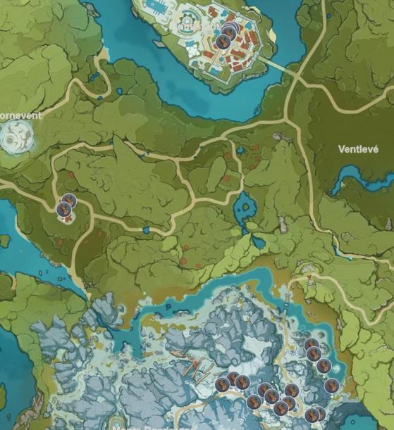 Espinadragón - Genshin Impact