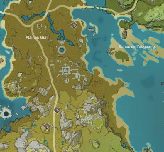 Llanura Bishui - Genshin Impact