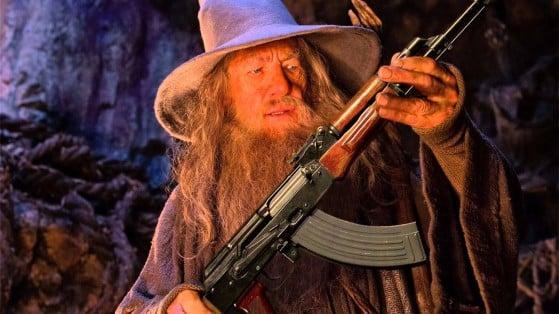 Un meme de Gandalf con una metralleta inspiró uno de los mejores juegos indies del E3 2021