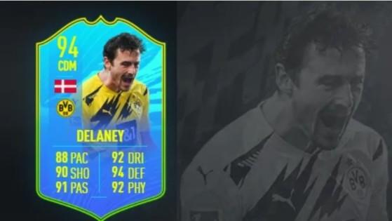 FIFA 21 Thomas Delaney FOF: soluciones baratas al desafío, recompensas y estadísticas