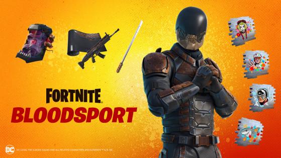 Fortnite: La skin de Bloodsport está disponible en la tienda, precio y contenidos