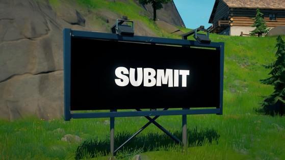 Fortnite: Equípate un detector y deshabilita una valla publicitaria alienígena en una misma partida