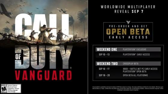 Con esta imagen, Activision lo confirmó en la Web oficial - COD: Vanguard