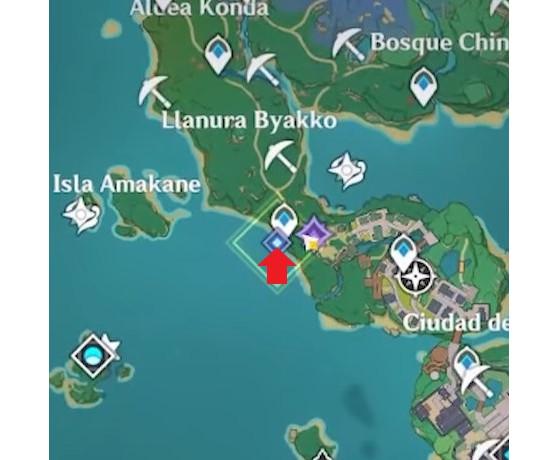 Paso 2: Kujirai - Genshin Impact