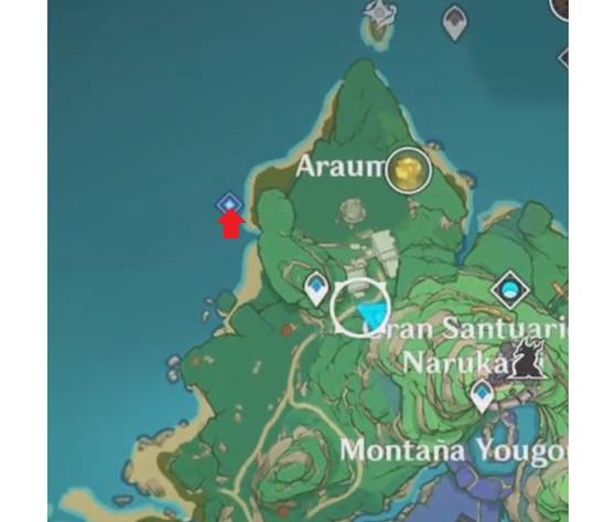 Paso 3: Vuelve con Kujirai - Genshin Impact