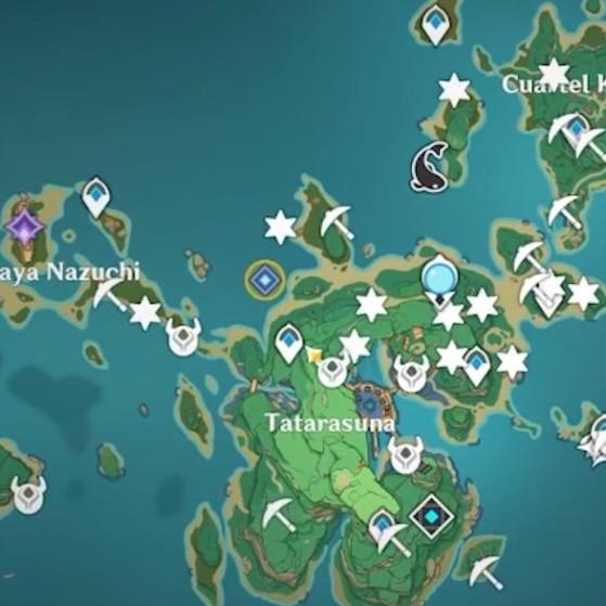 Paso 2: Encuéntrate con Kujirai en la costa este - Genshin Impact