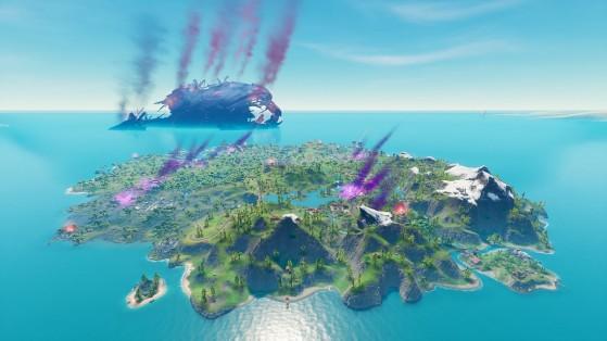 Fortnite Temporada 8: Nuevo mapa y nuevas localizaciones clave en la Isla