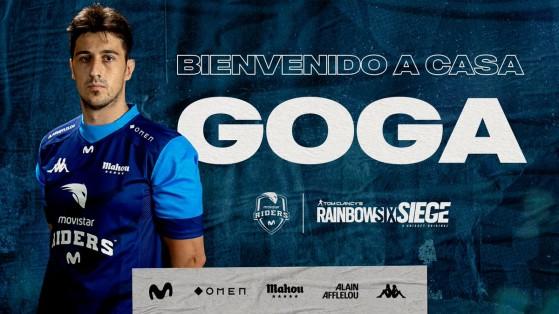 Una leyenda de los esports españoles vuelve a competir y jugará en Movistar Riders