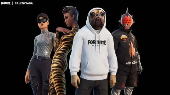 Fortnite: Las skins de Balenciaga está disponibles en la tienda del 21 de septiembre de 2021