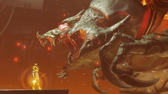 Metroid Dread: Guía para vencer a Kraid, el boss de Cataris