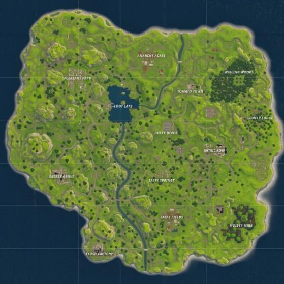Mapa Fortnite Temporada 1.Evolucion Del Mapa De Fortnite Desde Su Origen Hasta El