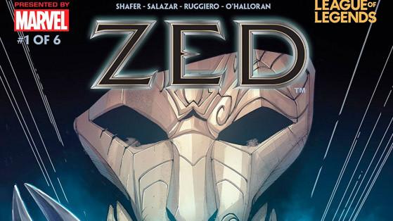 LoL: Zed será el tercer personaje de League of Legends en tener un cómic de Marvel