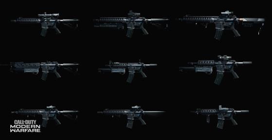Call of Duty Modern Warfare: Tier List de las mejores armas multijugador